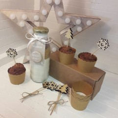 Kit à muffins Joyeux Noël