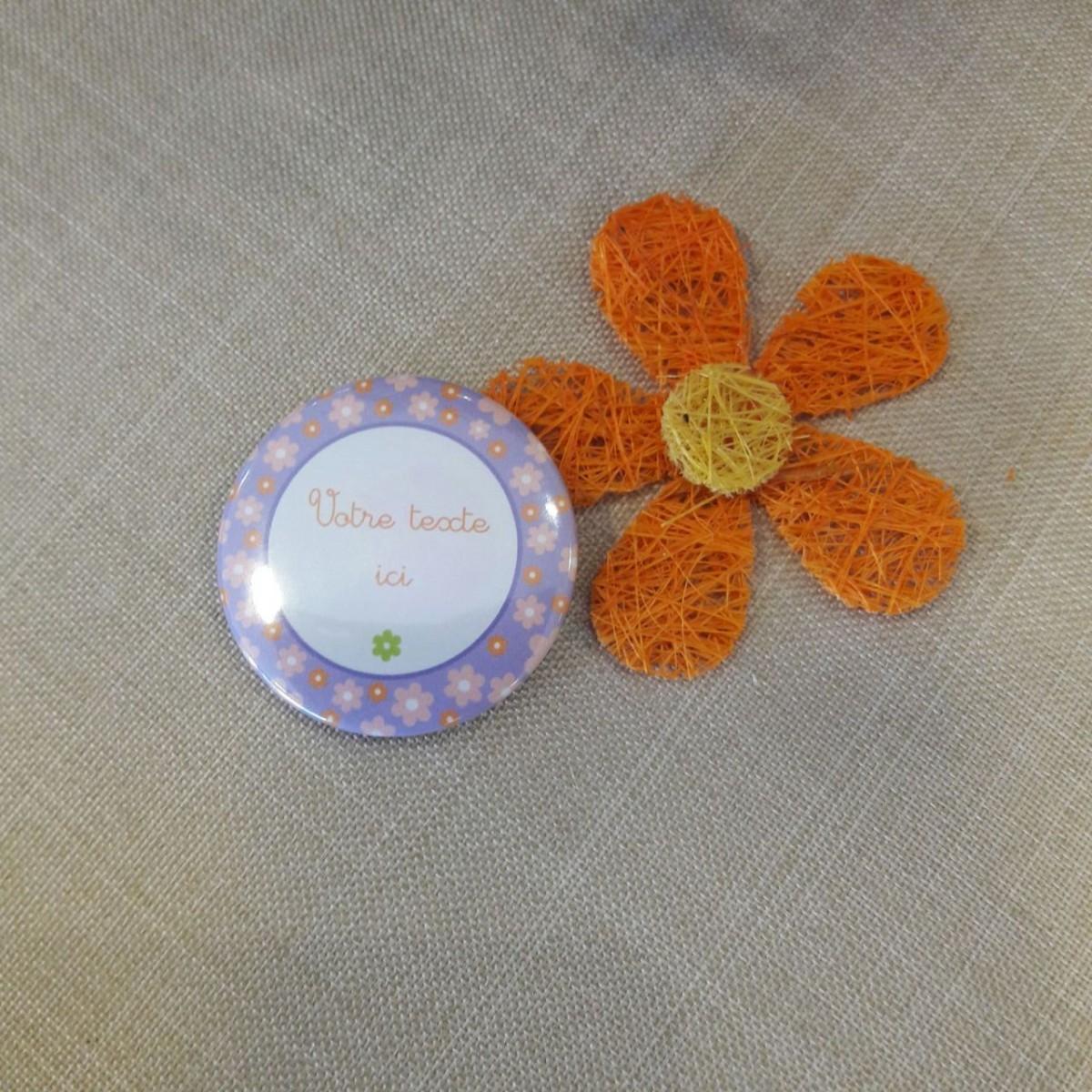 Magnet personnalisable fleurs - Le comptoir des p tites fees bondues ...