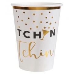 10 Gobelets Tcin Tchin