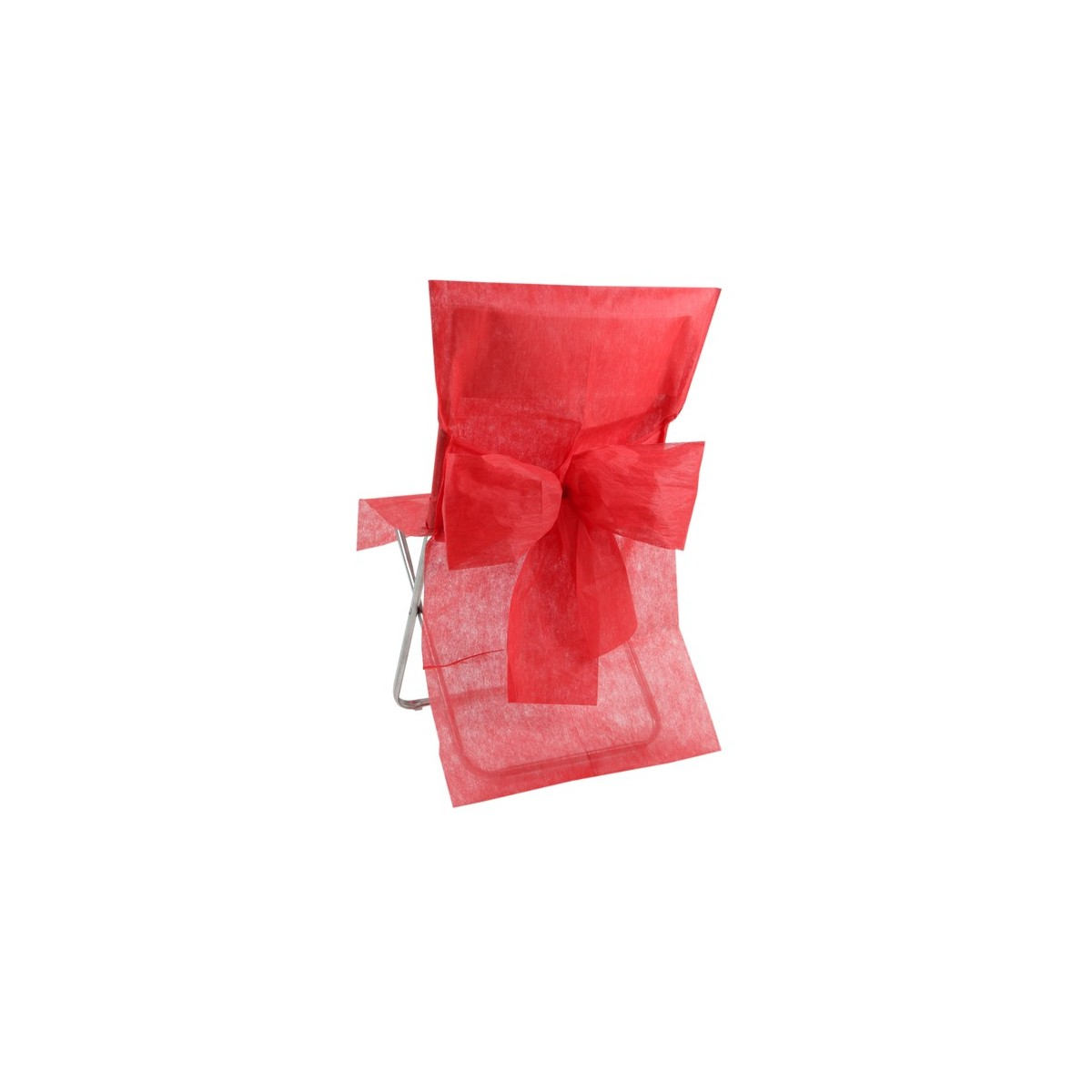 10 housses de chaise rouges les p tites f es. Black Bedroom Furniture Sets. Home Design Ideas
