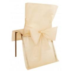 10 Housses de chaises rouges