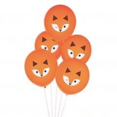 5 Ballons tatoué renard