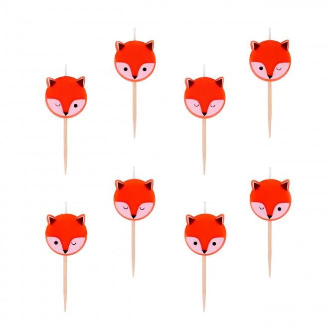 8 bougies renard