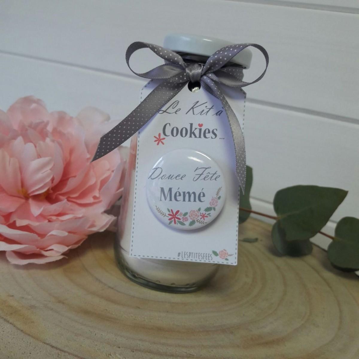 Kit cookies pour la f te des mamie id es cadeaux - Idee cadeau pour mamie ...