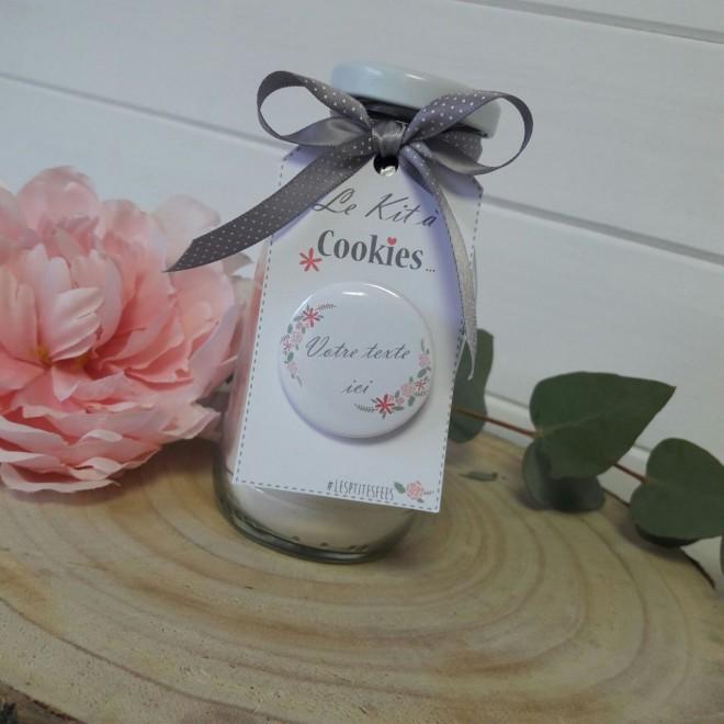 """Kit à cookies personnalisable """"jardin vintage"""""""