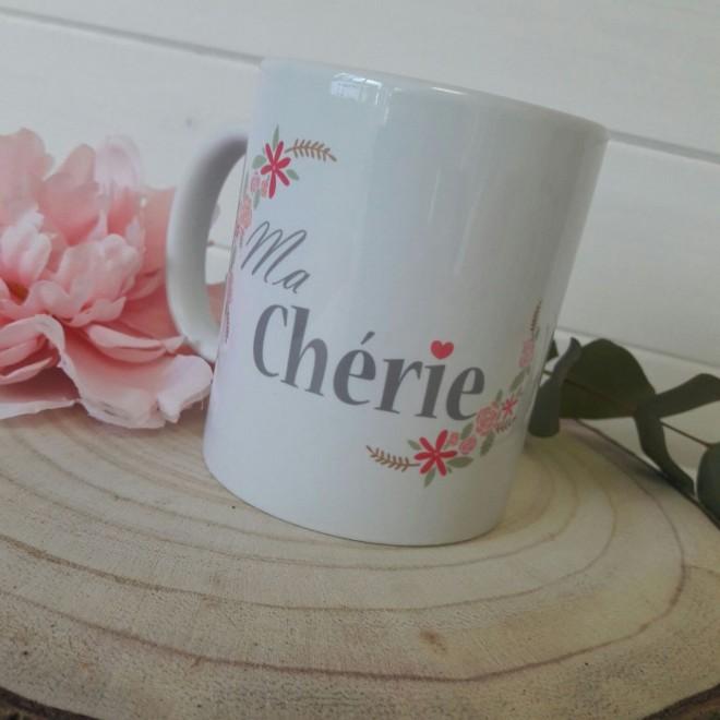 """Mug """"Ma Chérie"""""""