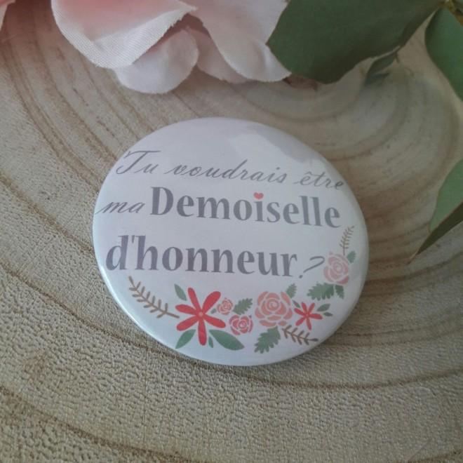 """Pochon """"Tu voudrais être ma demoiselle d'honneur"""" JV"""