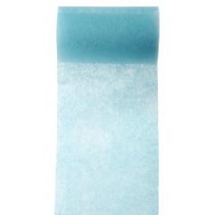10 m de tulle non tissé turquoise