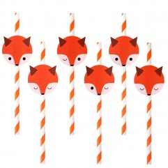 12 pailles renard