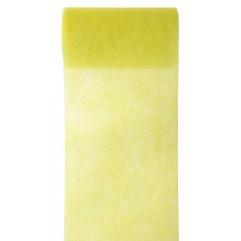 10 m de tulle non tissé jaune