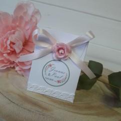 """Pochon En Carton """"jardin vintage"""""""