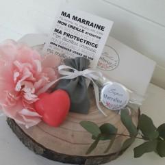 """La boite à bonheurs """"Super Marraine"""" JV"""