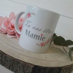 "Mug ""Tu vas être Mamie"" JV"