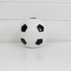 3 ballons de foot noir et blanc