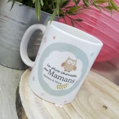 "Mug ""une chouette maman"" personnalisable"