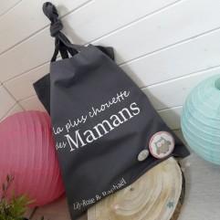 """Tote Bag """"La plus chouette des mamans"""" personnalisable"""