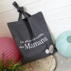 """Tote Bag """"La plus chouette des mamans"""""""