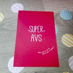 "Carte Postale ""super avs"