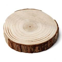 Rondin de bois 24 & 26cm