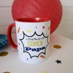 """Mug """"La potion magique d'un super papa"""""""