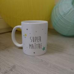 Mug Super Maître étoiles