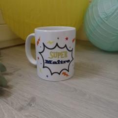 Mug Super Maître (super héros)