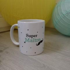 Mug Super Maître moustache
