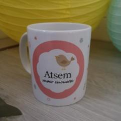 Mug ATSEM super chouette