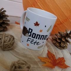 "Mug ""Bonne Fête"" Hérisson"
