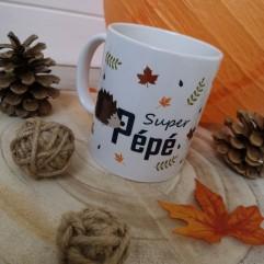 "Mug ""Super Pépé"""