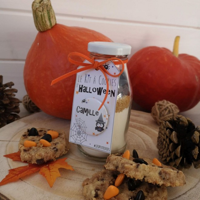 Kit à cookies personnalisable Halloween