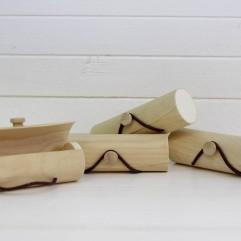 4 boites bamboux