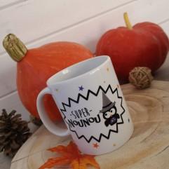 Mug super nounou Halloween