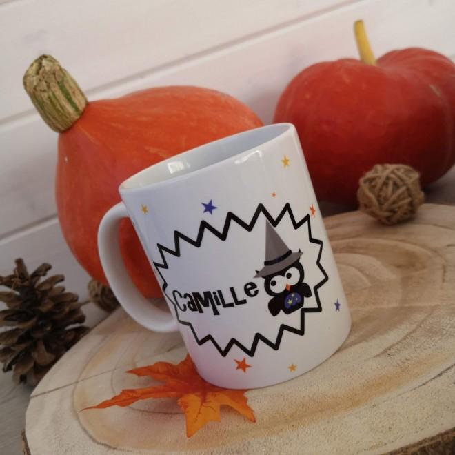 Mug personnalisable Halloween