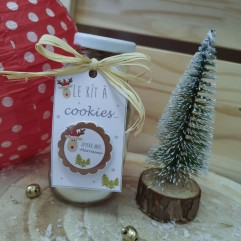 "Kit à cookies Marraine ""Renne"""