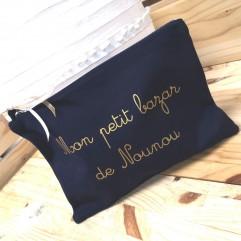 "Grande Trousse bleu marine ""nounou"""