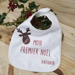 "Bavoir ""Mon Premier Noël"""