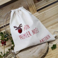 "sac à dos ""Mon Premier Noël"""
