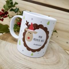 """Tasse incassable """"Mon Premier Noël"""""""