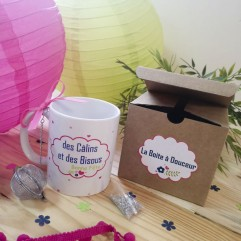 Coffret Mug + boule à thé