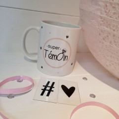 "Mug ""Super Témoin"" Diamant"