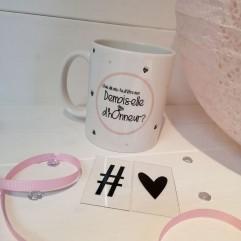 "Mug ""demande Demoiselle d'honneur"" Diamant"