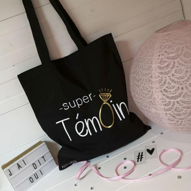 """Tote Bag """"Super Témoin"""""""