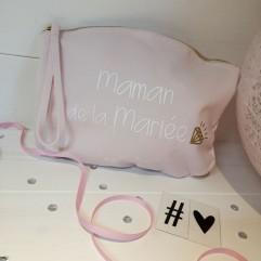 """Pochette """"Maman de la Mariée"""""""
