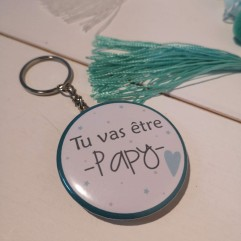 Badge & CO Tu vas être papy coeur