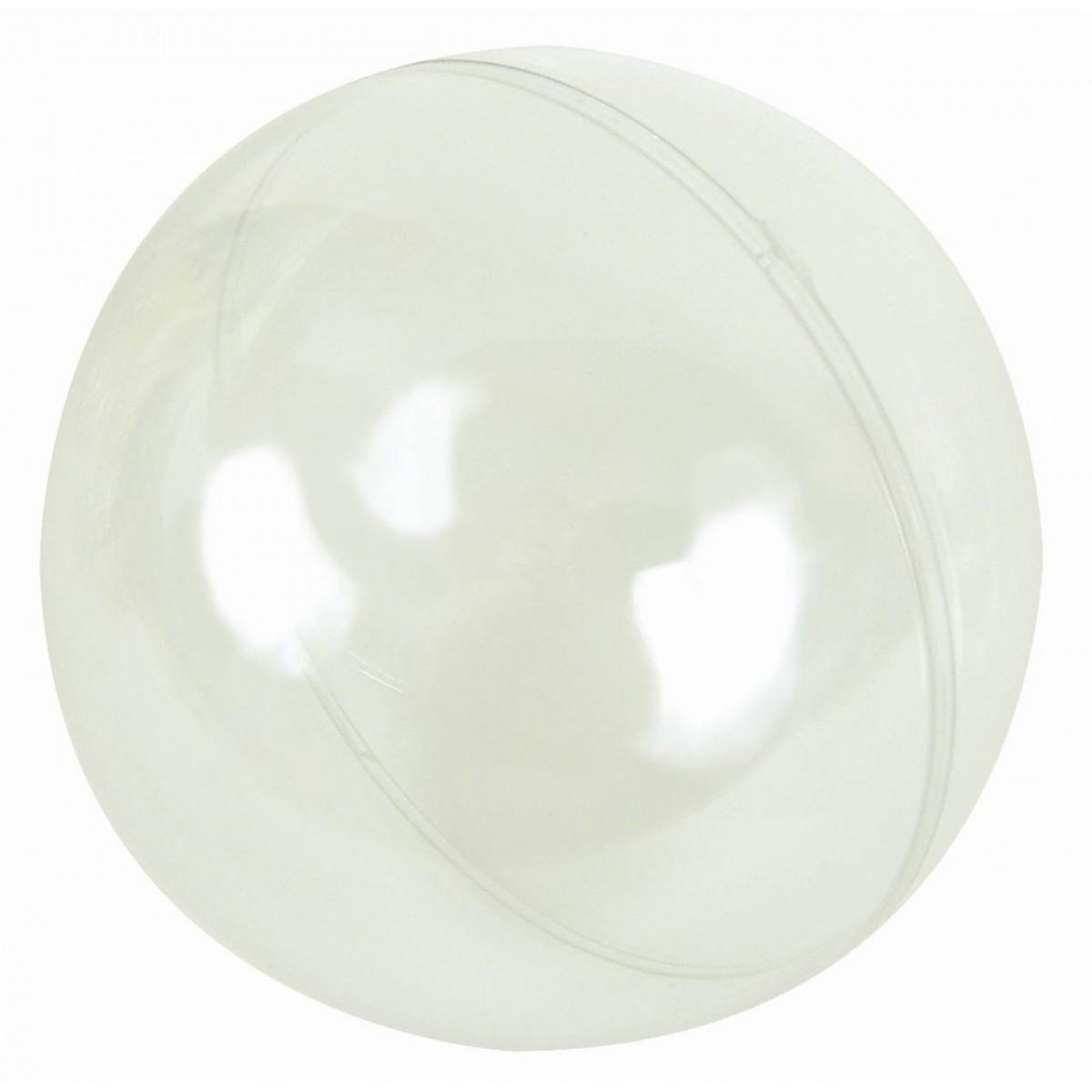 Boule Plastique A Decorer 5 boules 5 cm - les p'tites fées