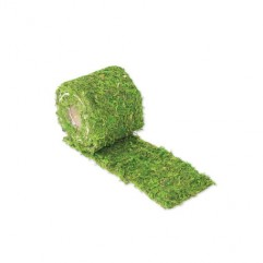 chemin de table en mousse végétale