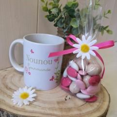 Mug Nounou gourmande + gourmandise