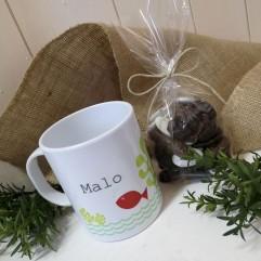 Mug incassable poisson+ gourmandise