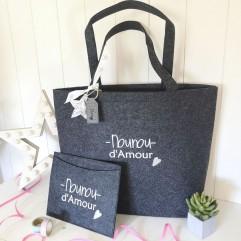 Sac Shopping Nounou d'amour